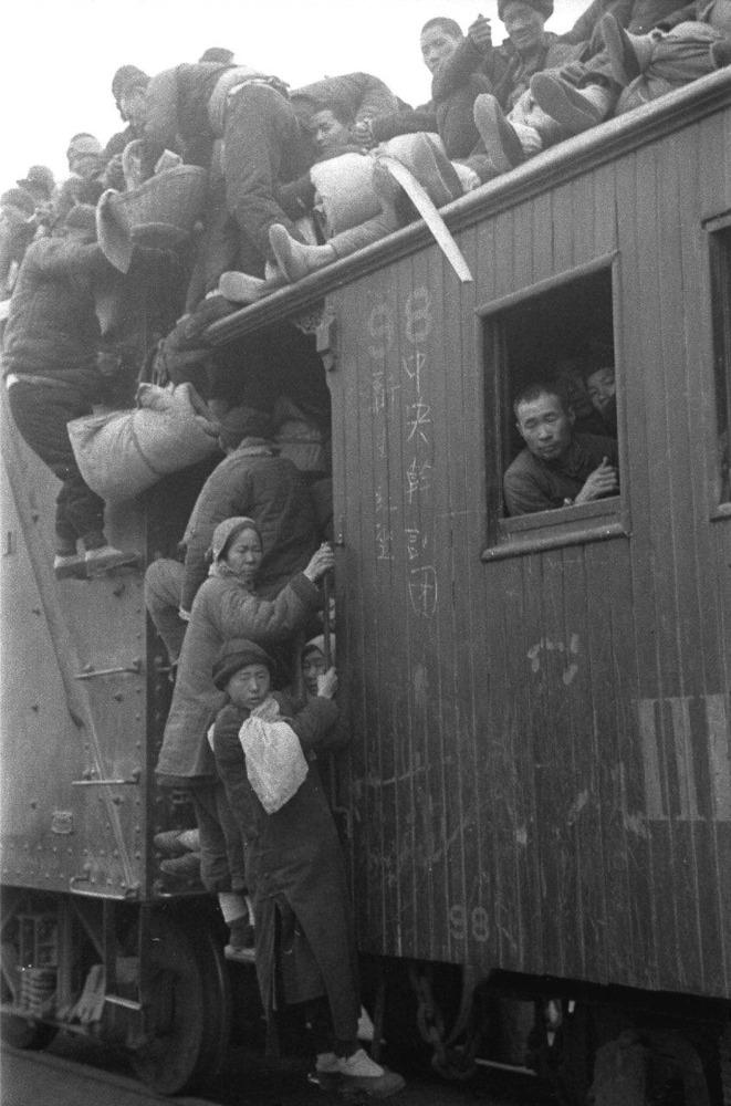 China famine old photos