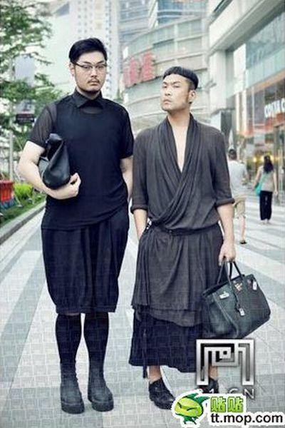 Men Who Wear Women's Clothes