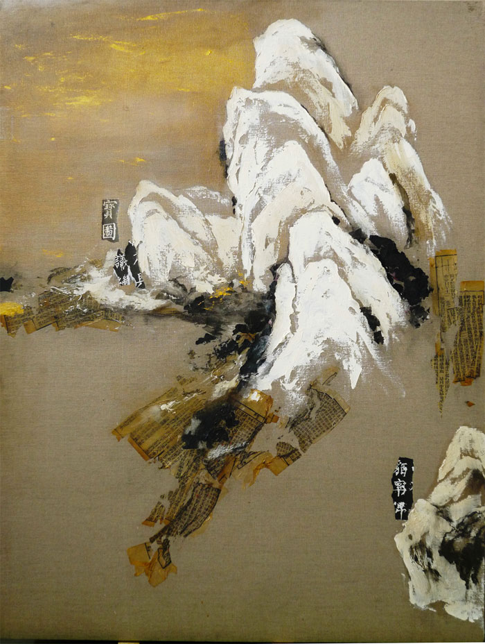 Two Generations of Contemporary Chinese Art-Wang Lifeng