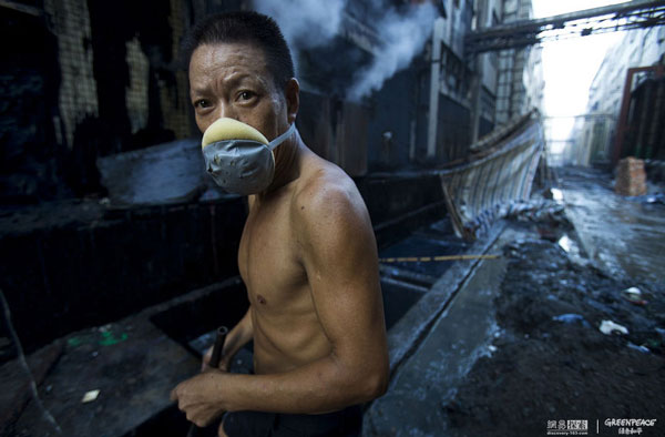 most polluting industries in the world