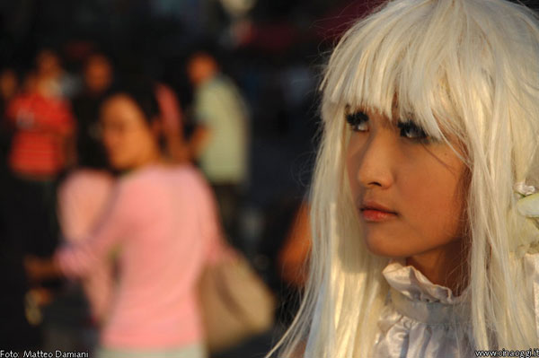Chinese girl cosplayer