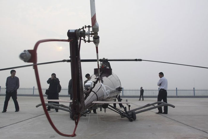 world's largest unmanned helicopter