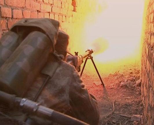 PLA anti-chemical warfare unit