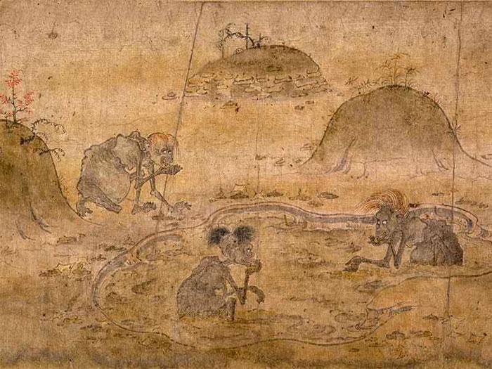 Spiriti e Demoni Orientali ( Cina e giappone) Affamati