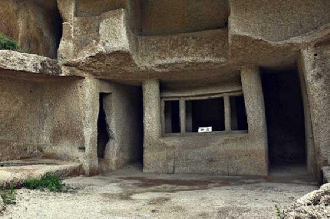 Le misteriose case di roccia dei piccoli uomini cinaoggi for Piccole case quadrate